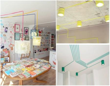 Esconder cables o decorar con ellos - Como camuflar cables ...