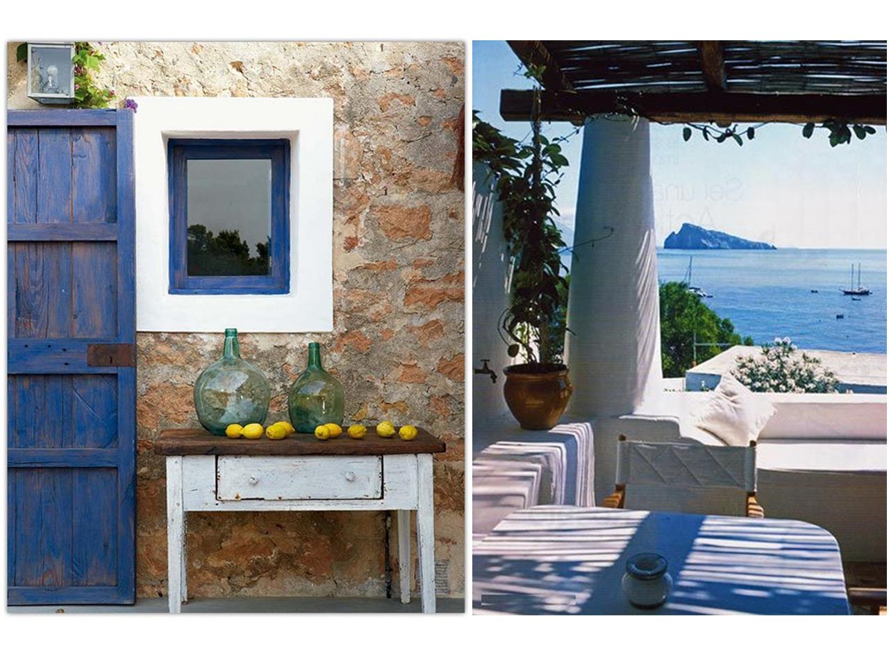 Decoraci n de casas de playa con aires mediterr neos - D casa decoracion ...