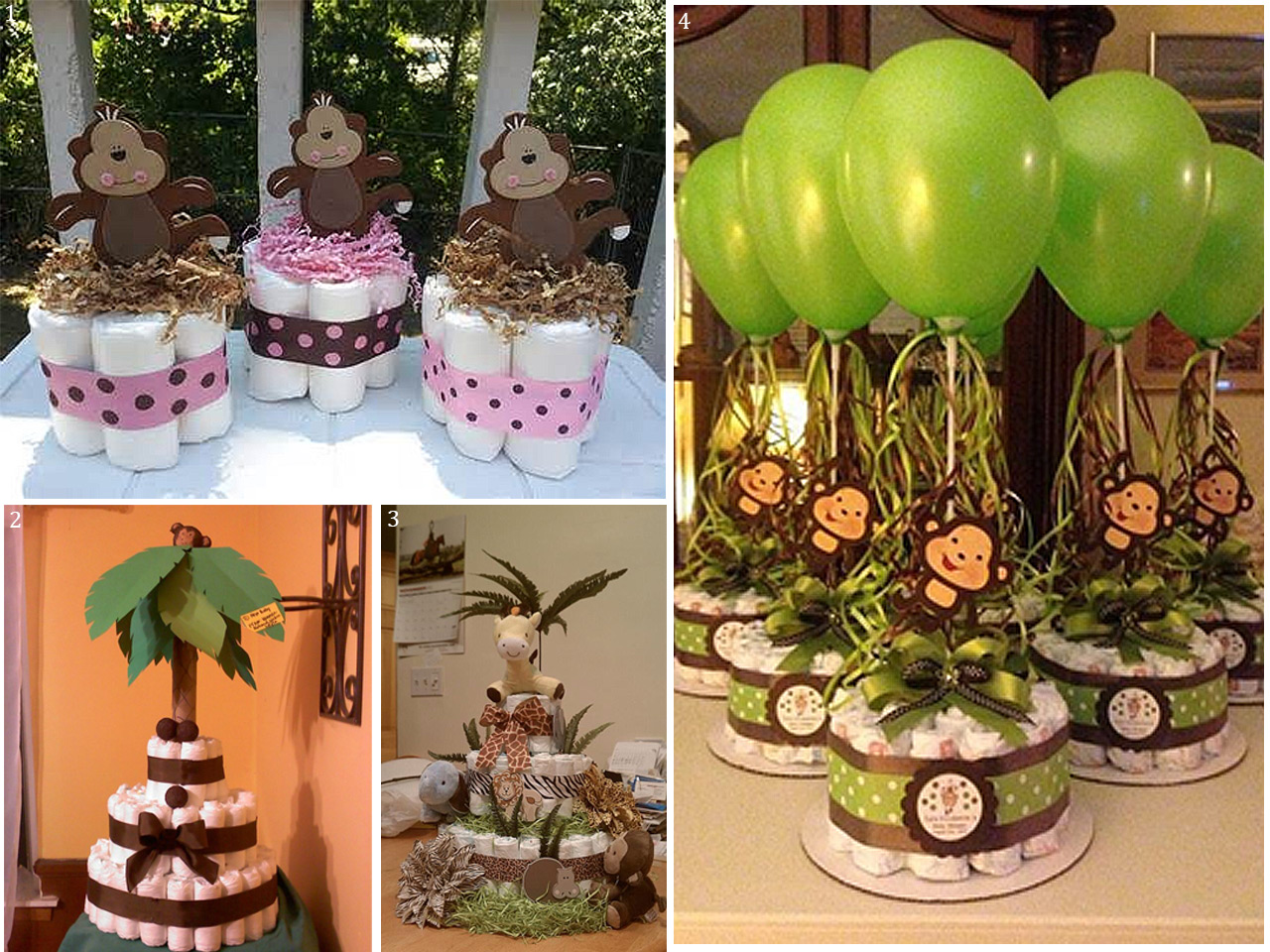Decoraci n safari ideas para fiestas infantiles tem ticas for Decoracion cumpleanos nino