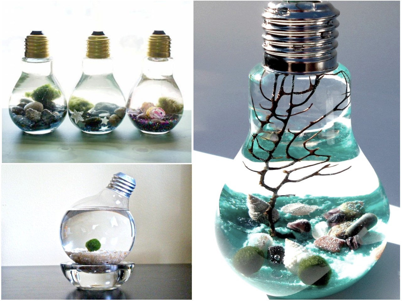 10 ideas de decoraci n con bombillas recicladas for Decoracion y ideas