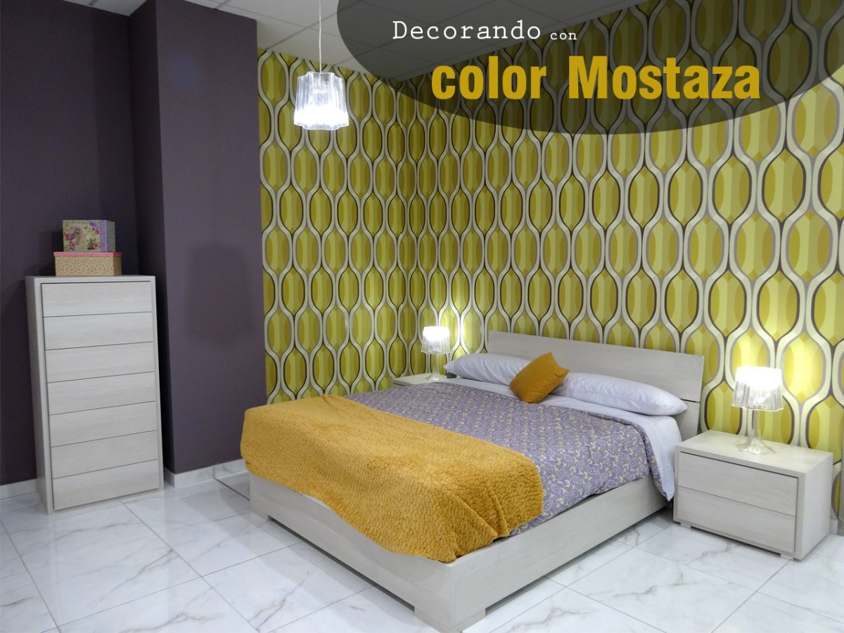 Atrévete con una original decoración en color mostaza