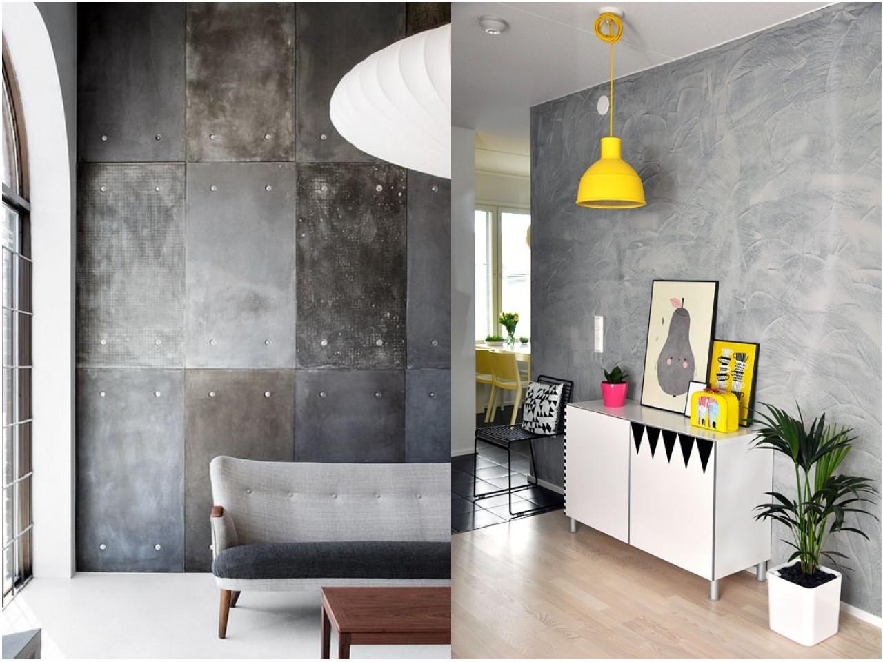 Ap ntate a la decoraci n en color gris - Decoracion de paredes colores ...