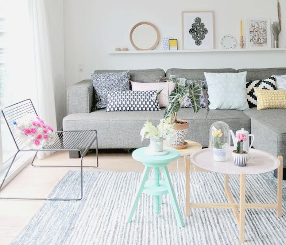 Te descubrimos lo ltimo en complementos para decorar el for Sofa gris claro color pared