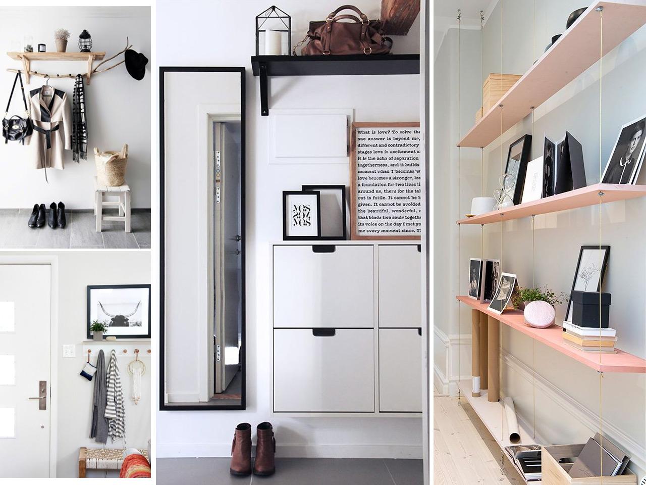 7 tips molones de decoraci n de recibidores modernos - Decorar recibidor moderno ...