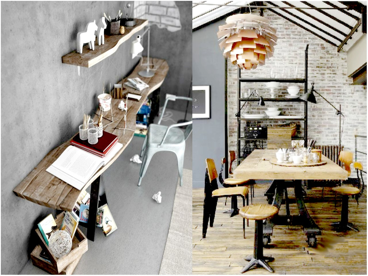 6 claves para una decoraci n vintage industrial - Decoracion de cocinas industriales ...