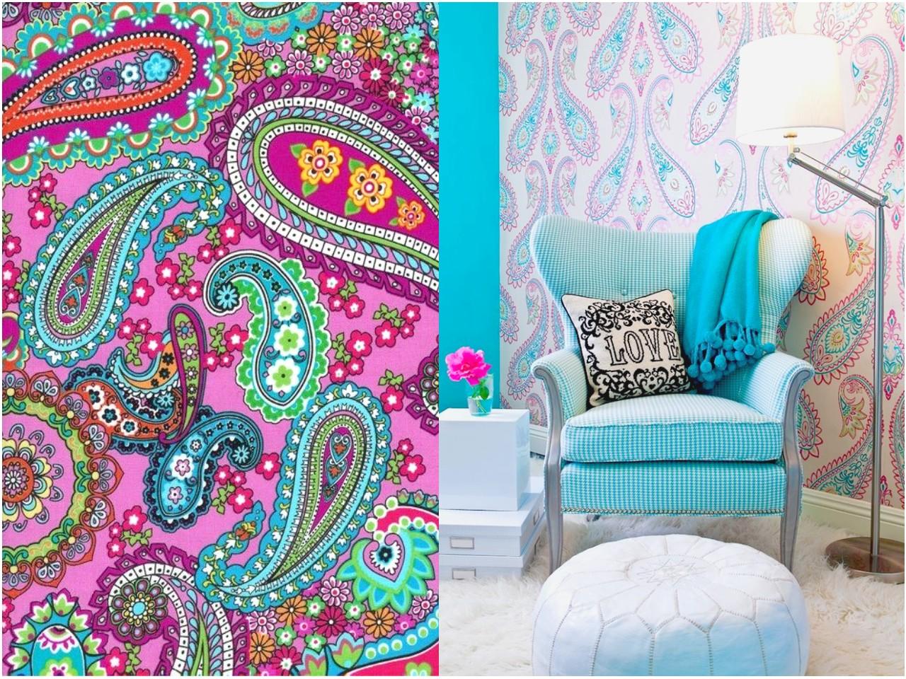 5 estampados originales que no debes perder de vista - Papel para paredes de dormitorios ...