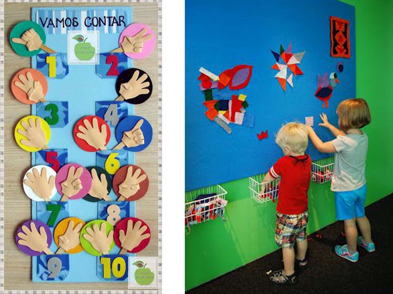 Fondo De Fiesta Diseño Decoracion Confeti Arte Patrón: 12 Manualidades Molonas De Decoración Infantil Con Fieltro