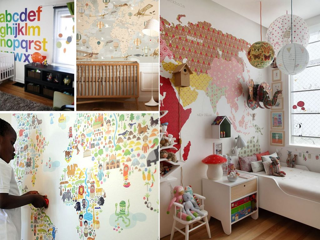 paredes para niños originales