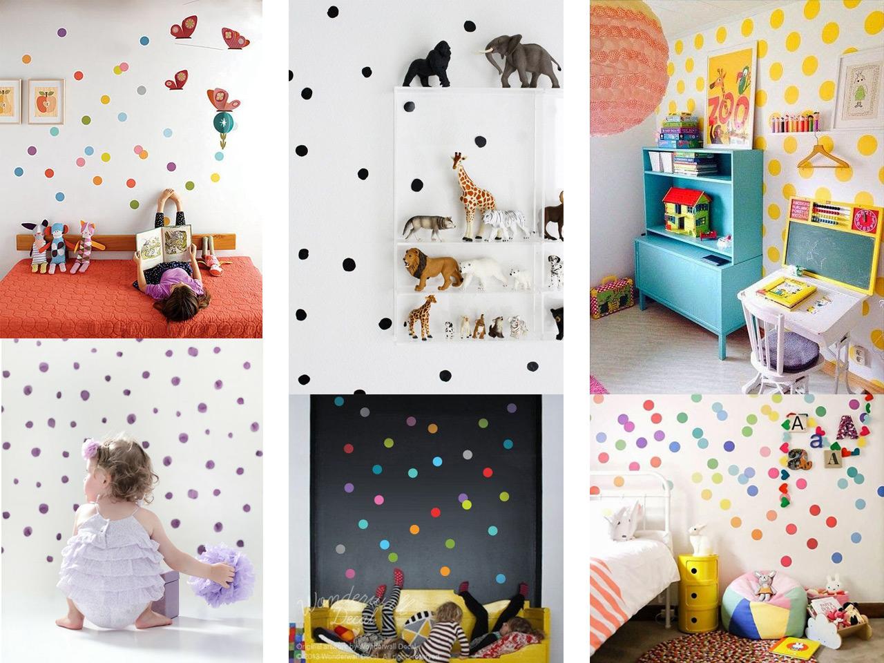Creatividad y paredes originales para ni os - Pintar habitacion infantil nino ...