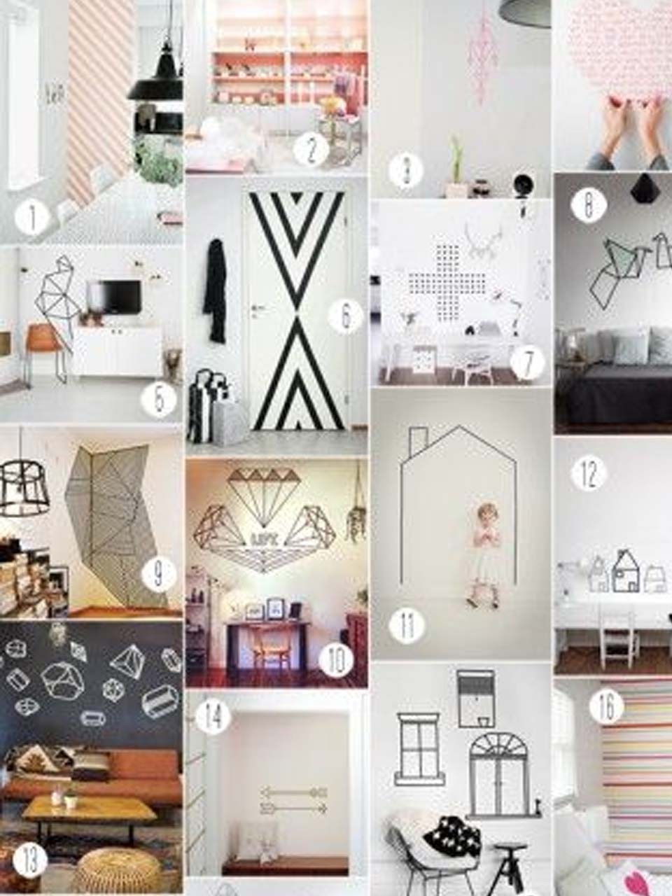 15 manualidades para decorar paredes - Ideas para decorar paredes con fotos ...