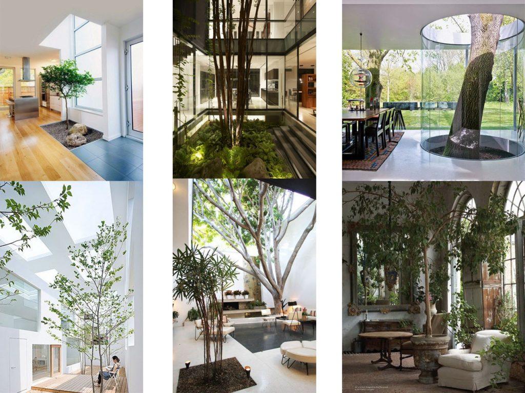 Tus 7 inspiraciones de decoraci n de terrazas interiores for Salones con escaleras interiores