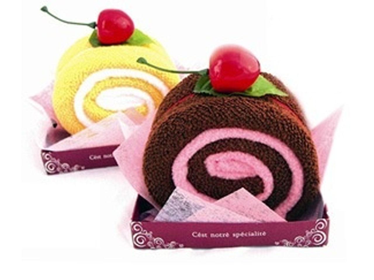 u como hacer figuras con toallas con forma de cupcakes