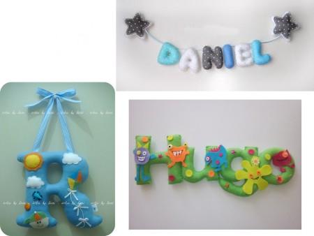 Cómo decorar puertas con letras