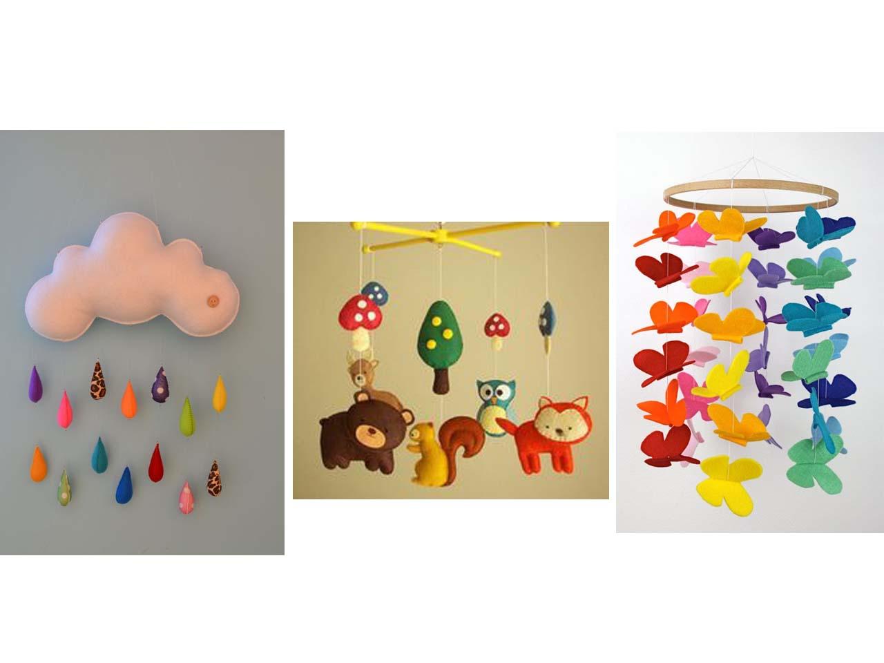 12 manualidades molonas de decoraci n infantil con fieltro - Decorar cuarto infantil ...