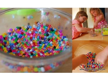 cómo hacer hama beads