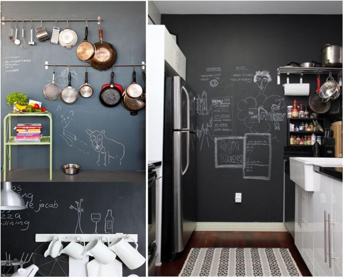 Las 6 mejores ideas de decoraci n con pizarras para casa - Pizarra de cocina ...