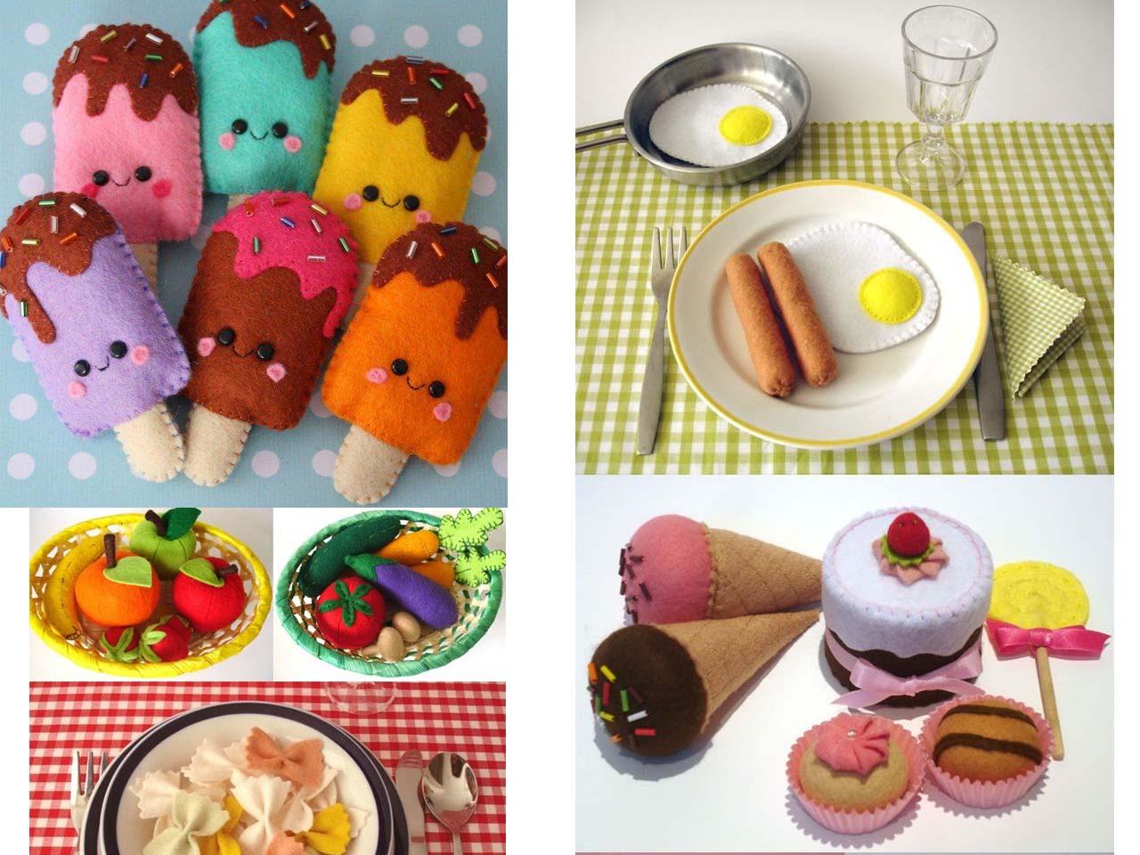 12 manualidades molonas de decoraci n infantil con fieltro for Figuras para decoracion