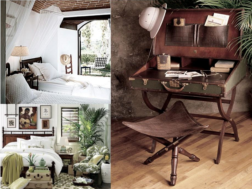 Consigue un dormitorio de estilo colonial en 7 pasos - Dormitorio estilo colonial ...