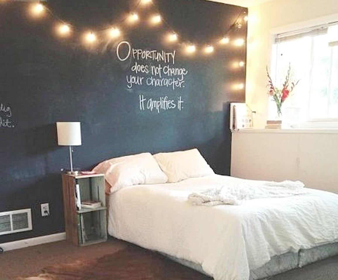 Las 6 mejores ideas de decoraci n con pizarras para casa - Decorar paredes habitacion ...