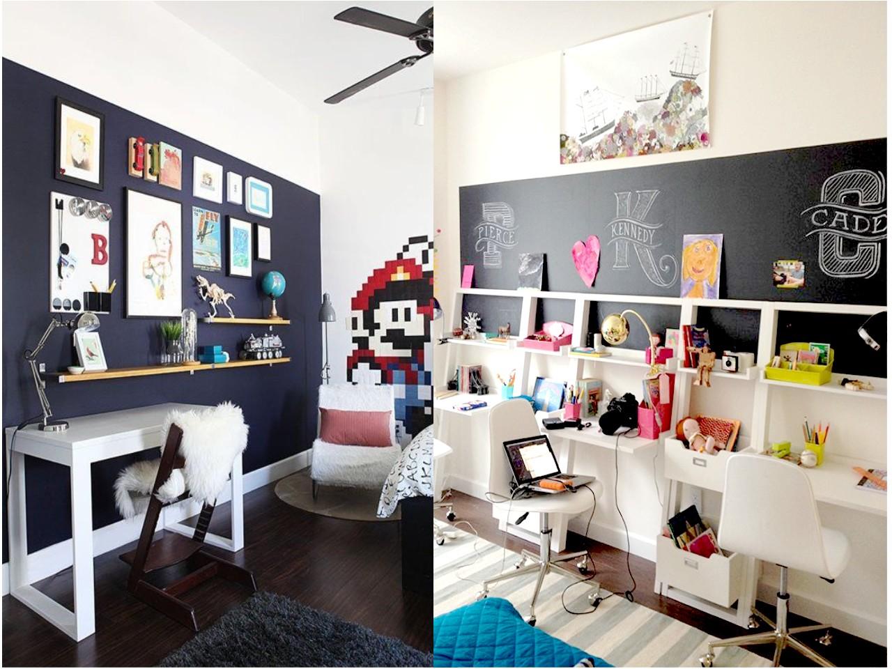 Las 6 mejores ideas de decoraci n con pizarras para casa for Estudios minimalistas decoracion