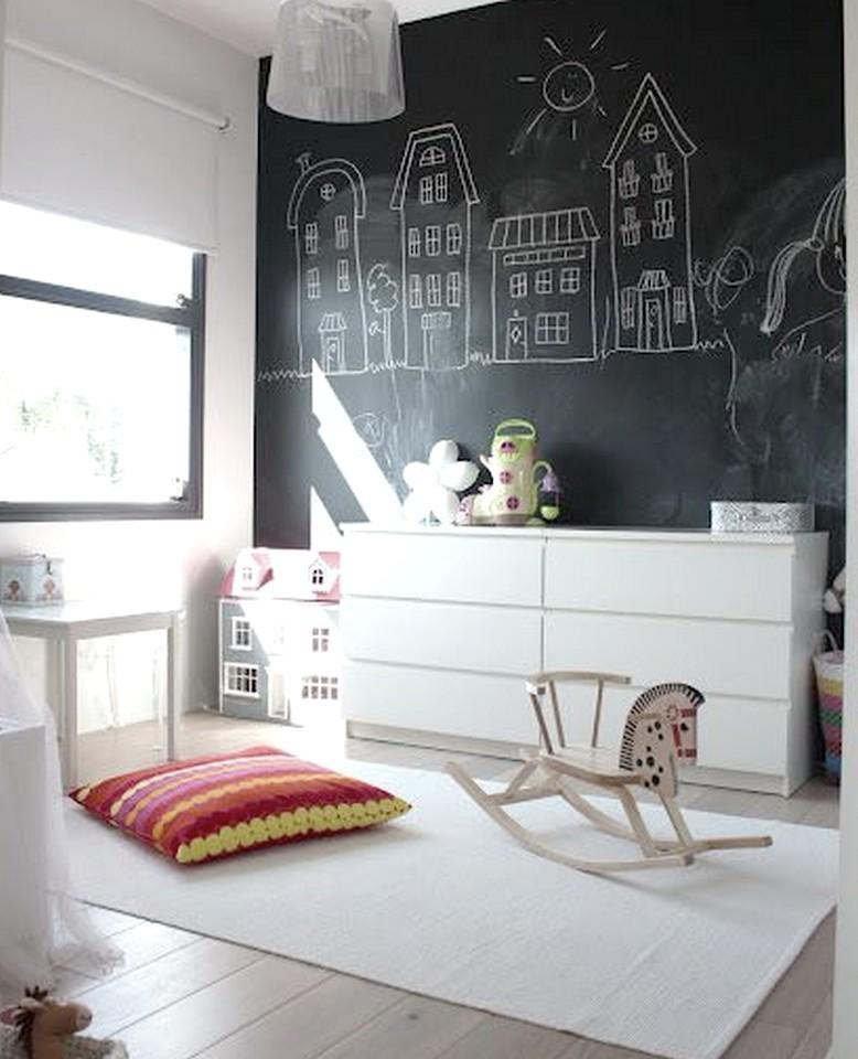 Las 6 mejores ideas de decoraci n con pizarras para casa - Pizarra decoracion pared ...