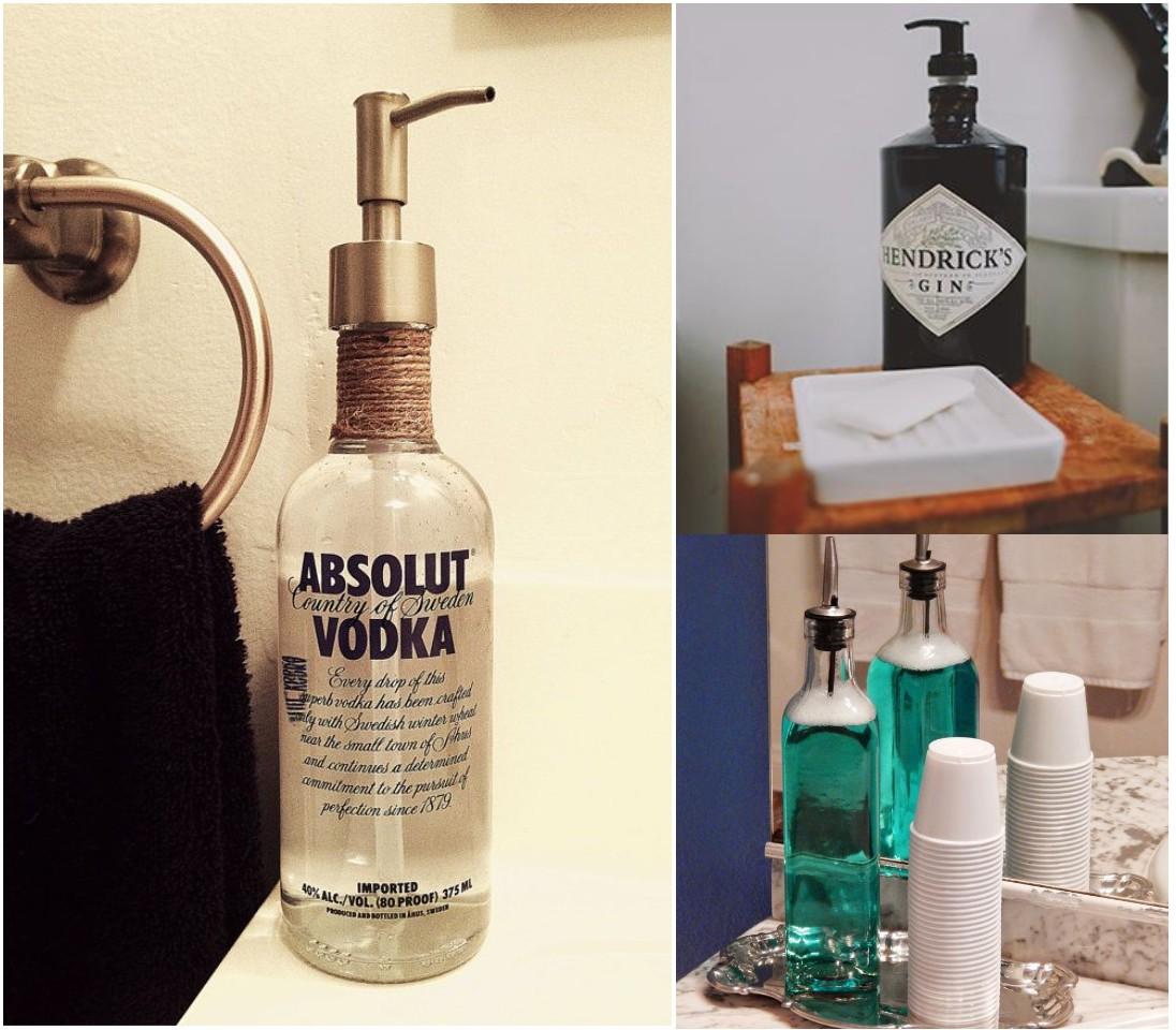 6 mejores y geniales ideas para reciclar botellas de vidrio for Ideas decoracion reciclaje