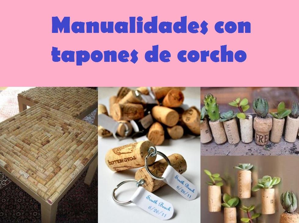 11 manualidades con tapones de corcho - Blog de manualidades y decoracion ...