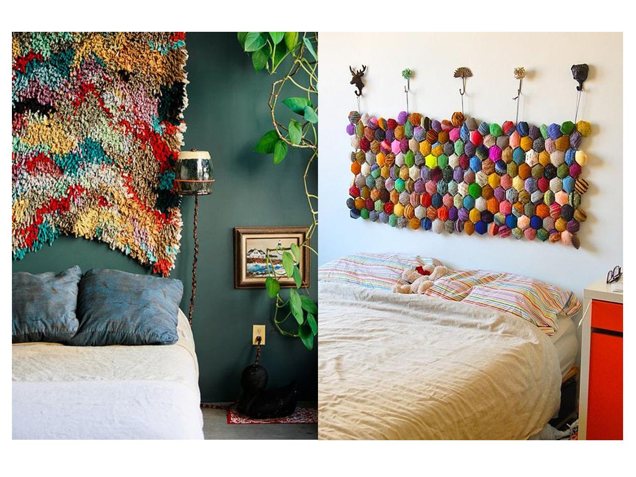 Decoraci n de cabeceros de cama para sorprender - Ideas cabecero cama ...