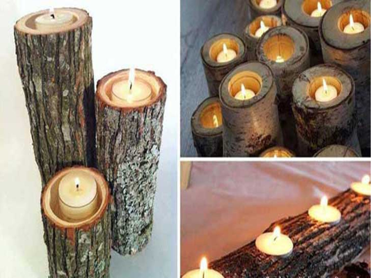 15 ideas molonas de decoraci n con troncos de rboles for Madera y decoracion