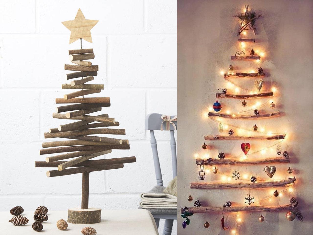 15 ideas molonas de decoraci n con troncos de rboles for Decoracion en madera para pared
