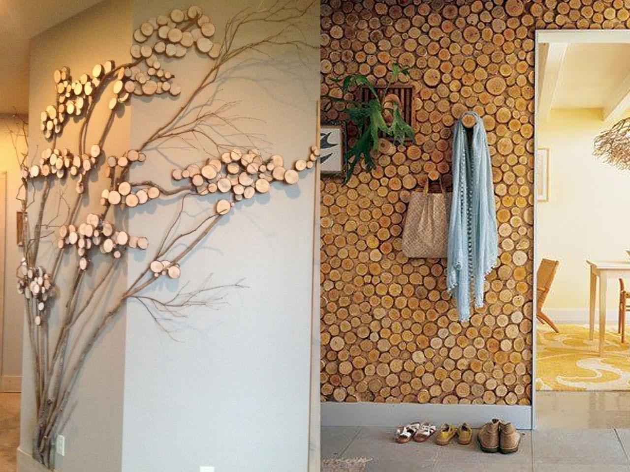 15 ideas molonas de decoraci n con troncos de rboles - Pinturas rusticas para interiores ...