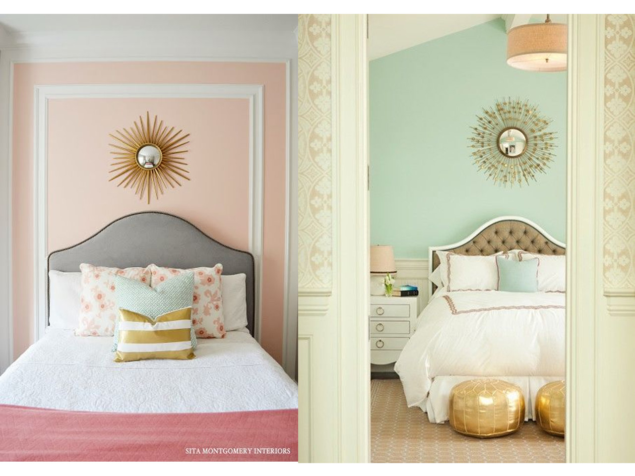 C mo decorar con espejos siguiendo las ltimas tendencias for Decoracion de la pared para el dormitorio