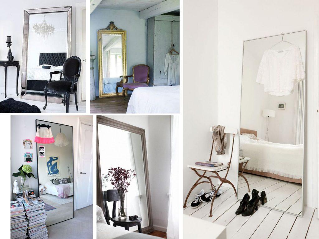 ideas sobre cómo decorar con espejos