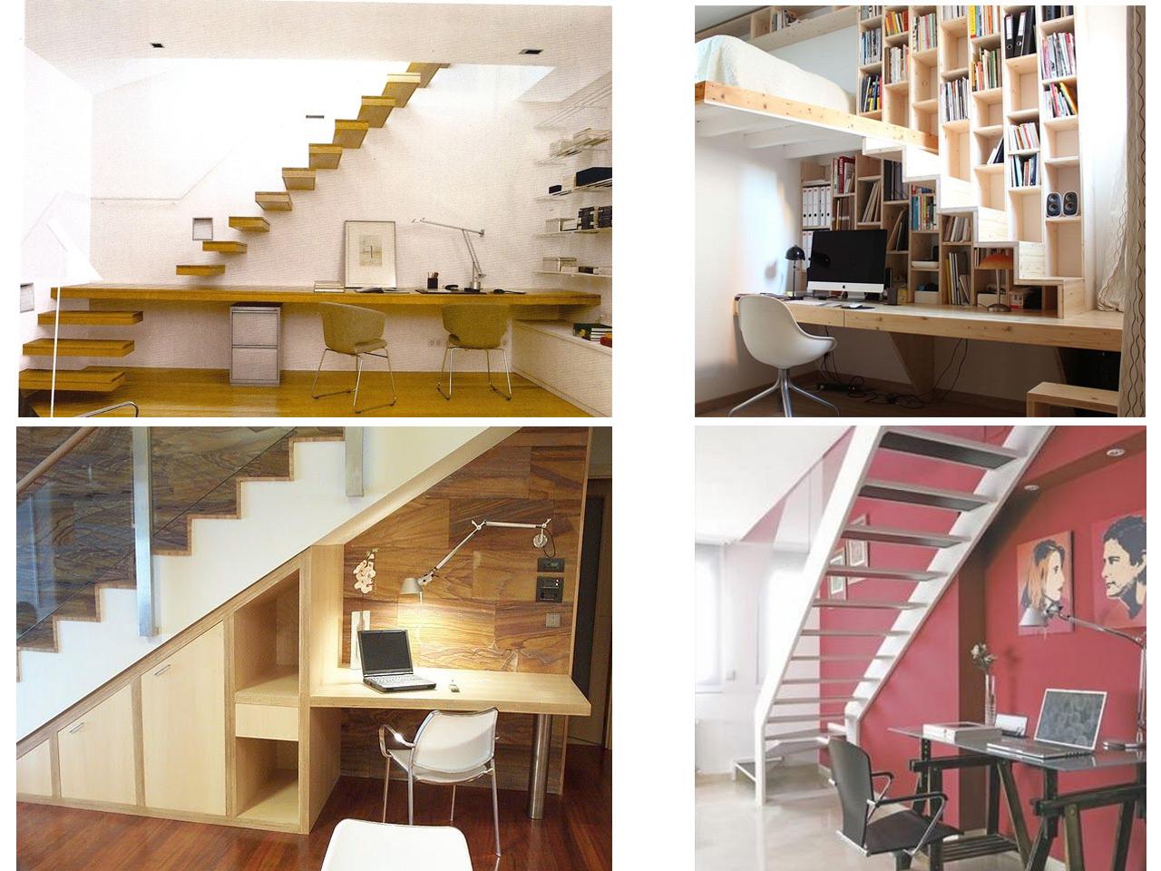9 ideas de c mo aprovechar espacios debajo de escaleras - Aprovechar el espacio ...