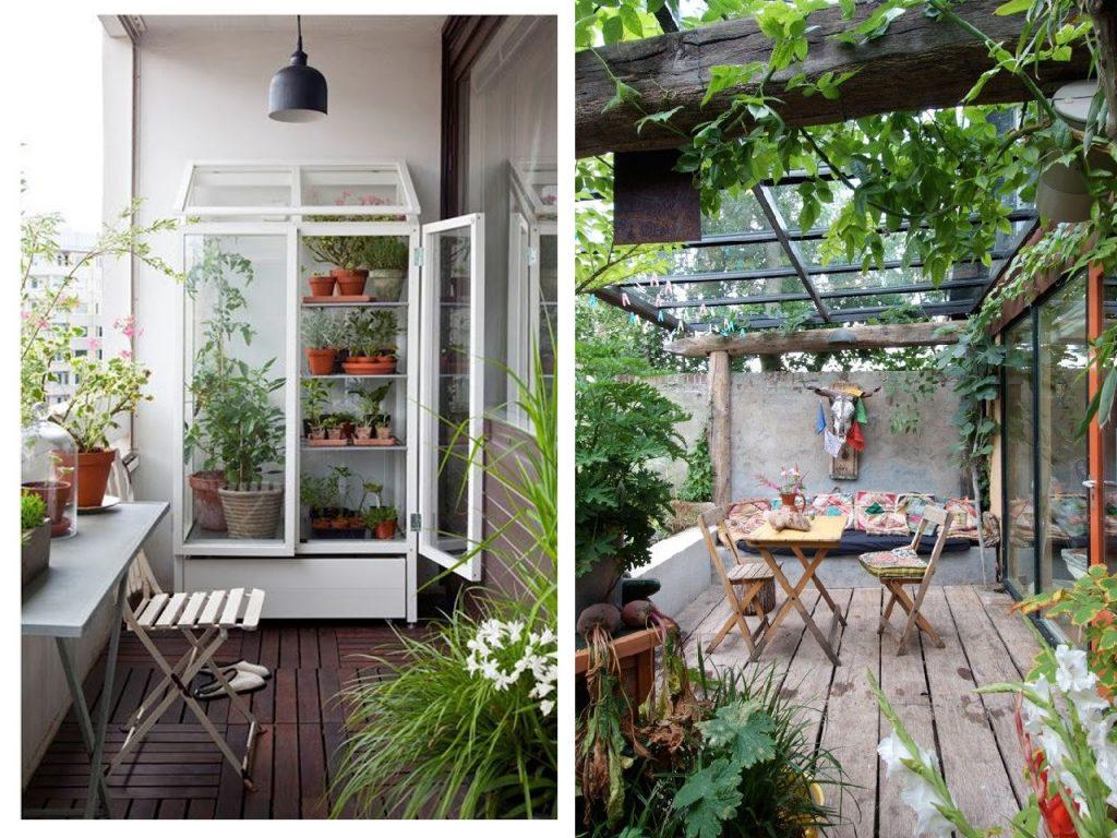 Decorar terrazas con encanto en invierno tambi n for Modelo de casa con terraza