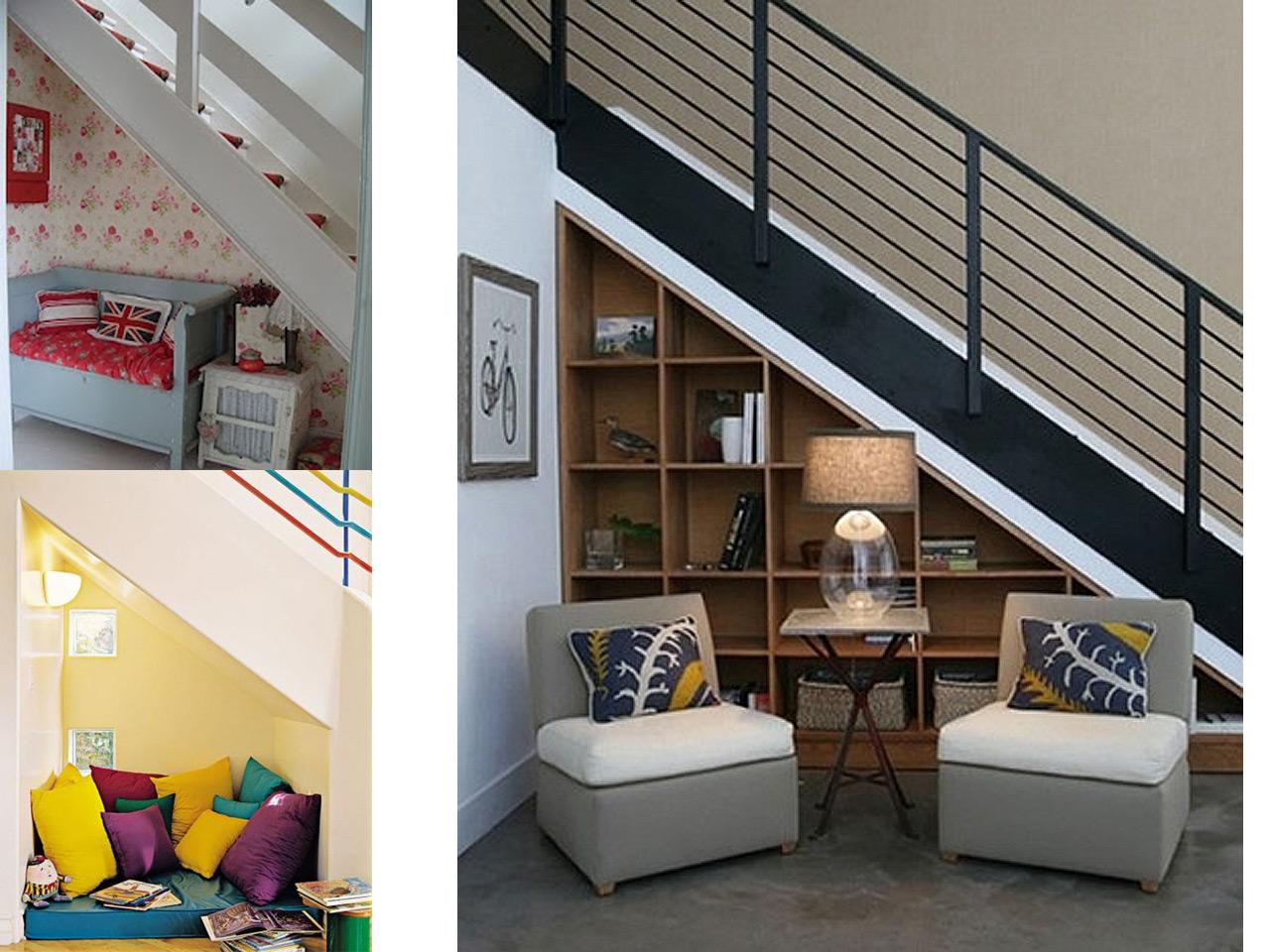 9 ideas de c mo aprovechar espacios debajo de escaleras