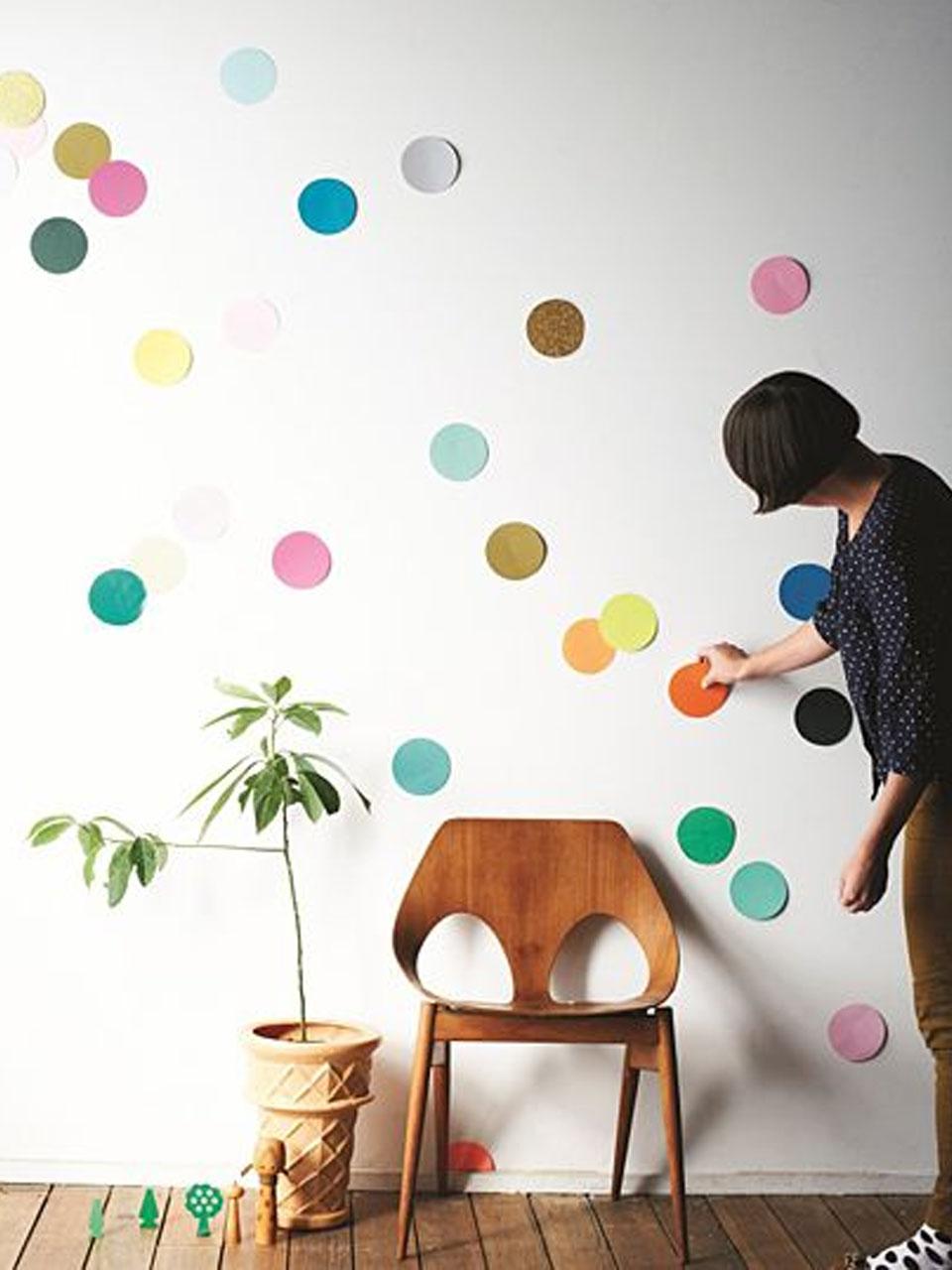 10 ideas de decoraci n de paredes con fieltro - Decoracion infantil paredes ...