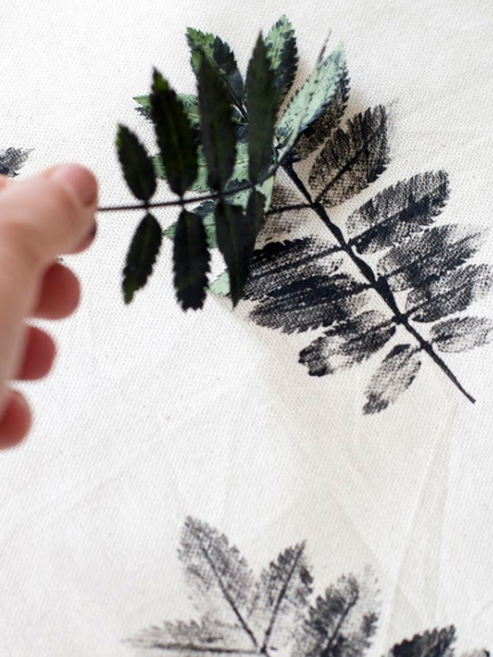 Decorar con hojas secas las 9 mejores ideas - Como decorar una pared blanca ...