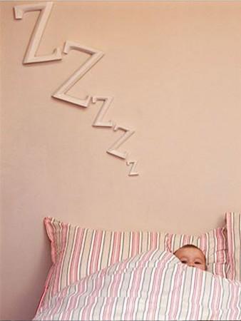 letras infantiles para decorar la habitación