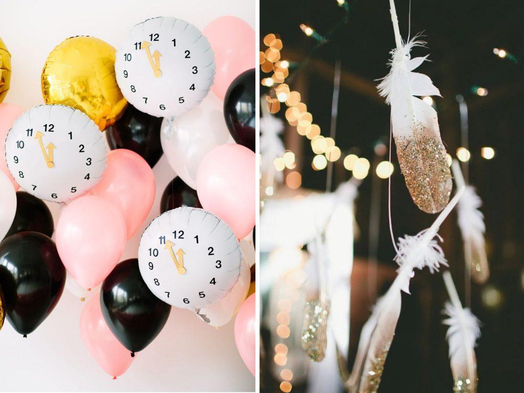 6 ideas brillantes de decoraci n para a o nuevo low cost for Ideas decoracion manualidades