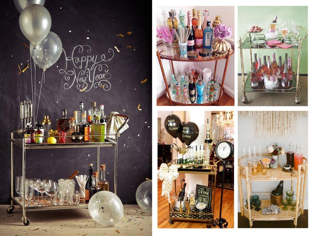 6 ideas brillantes de decoraci n para a o nuevo low cost for Ideas decoracion bar