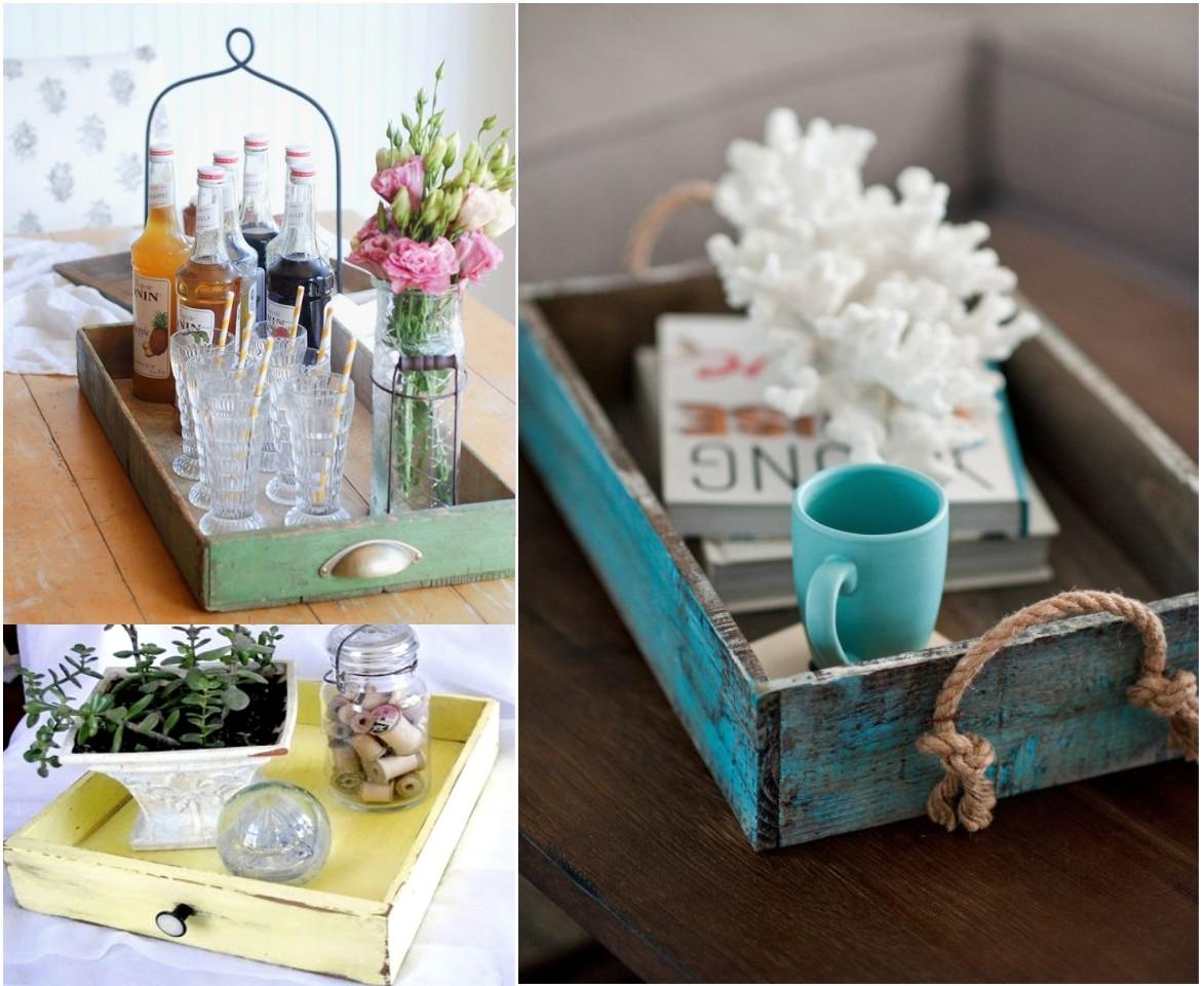 Como Decorar Un Salon Con Muebles Reciclados