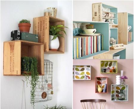 9 incre bles propuestas de decoraci n con madera reciclada for Adornos de madera para pared