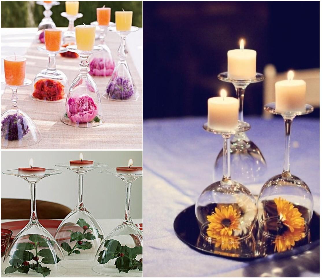 10 cosas originales para decorar tu mesa esta temporada - Decorar mesa de centro de cristal ...