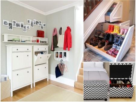 Las 15 mejores ideas para un dormitorio con vestidor abierto for Zapatero espacios pequenos
