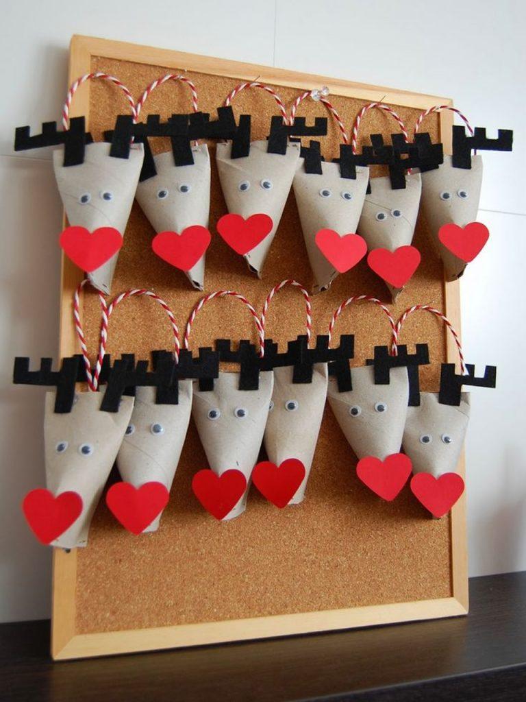 88 s per manualidades con rollos de papel higi nico - Trabajos manuales para navidad ...