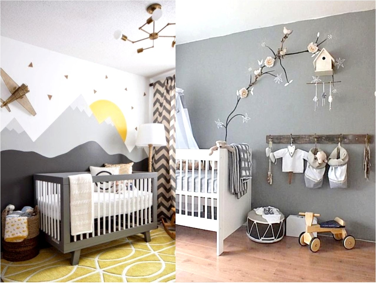 7 tips para aprender c mo decorar una habitaci n de beb for Decoracion para paredes infantiles
