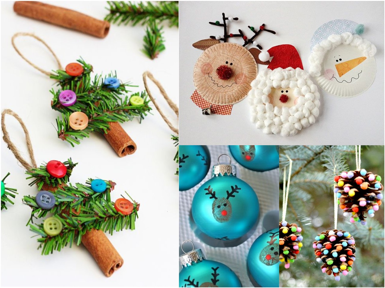 25 diy de decoraci n navide a infantil Ideas de decoracion manualidades