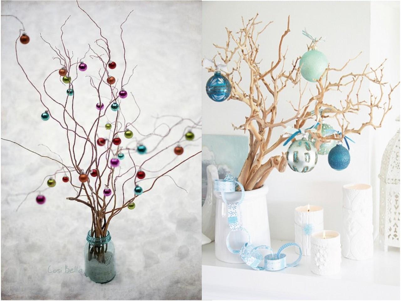 La decoraci n navide a para ba os tambi n existe - Ramas decoradas ...