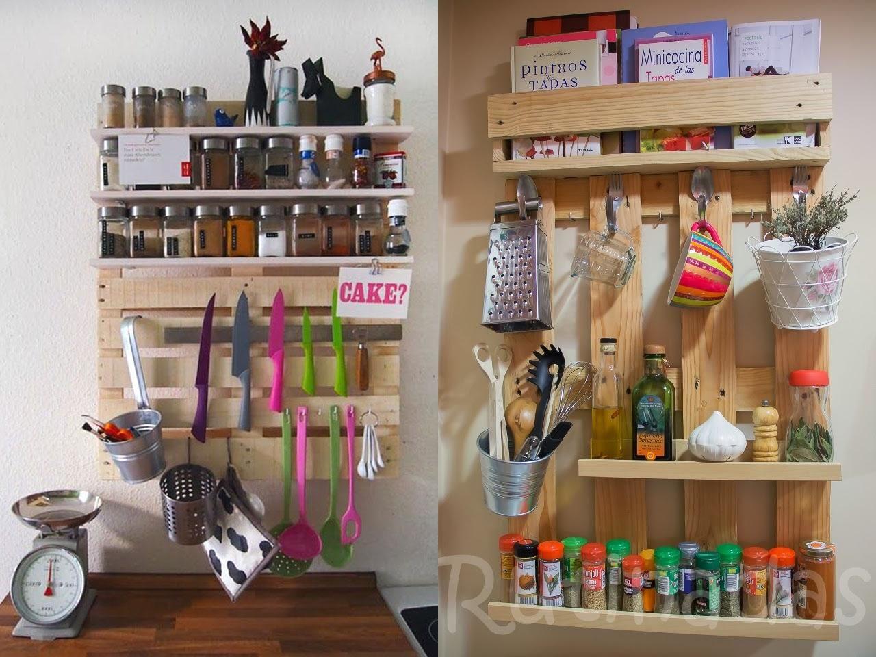 50 ideas para hacer muebles con palets - Estanterias con palets ...